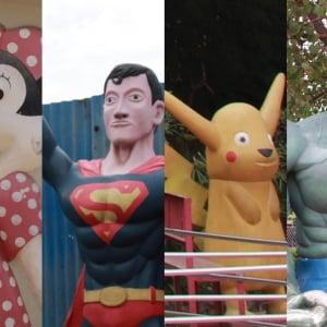 ディズニー・ポケモン・スーパーマンが夢のコラボ! パチモンだらけのネパールの遊園地がカオスすぎた