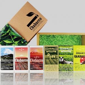 タバコと見せかけて緑茶!? 掛川茶100%使用の『Chabacco』がアイディア満点