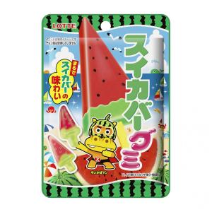 """夏の大定番アイス『スイカバー』がグミになって発売! ただし""""チョコ種""""はナシ"""