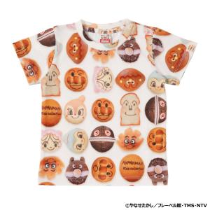 可愛くて美味しそう!大人も着られる『アンパンマン』のキャラクターパン柄Tシャツ