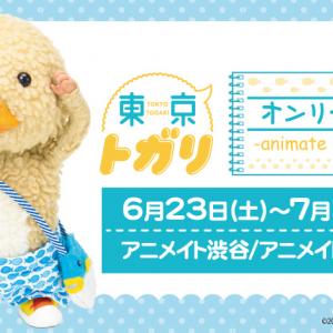 SNSで話題の癒やしキャラ・東京トガリくんオンリーショップが6月23日より期間限定オープン