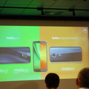 モトローラが新スマートフォン『moto g6 plus』『moto g6』『moto e5』を発表 本日より販売開始