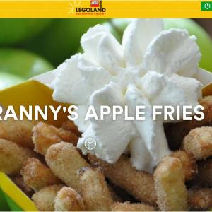 なんでもかんでも揚げやがって アメリカのレゴランドでアップルフライ『Granny's Apple Fries』が誕生