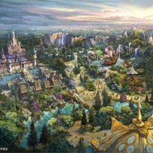 「東京ディズニーシー」が2022年開業目標の大規模拡張プロジェクトを発表! 『アナと雪の女王』『塔の上のラプンツェル』『ピーター・パン』の新エリア