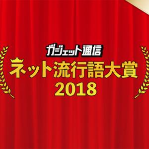 一般投票スタート!『ガジェット通信 ネット流行語大賞2018上半期』締切は7月3日