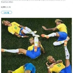 ハッシュタグ「#NeymarChallenge(ネイマールチャレンジ)」が世界で大流行中