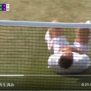 ネイマールチャレンジがウィンブルドンにも波及してしまう!? なぜかテニス選手が「痛いンゴw」