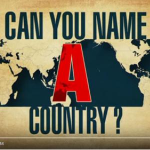 動画:アメリカ人は大陸レベルの世界地理すら把握していない模様 アフリカ大陸は1つの大きな国だった?