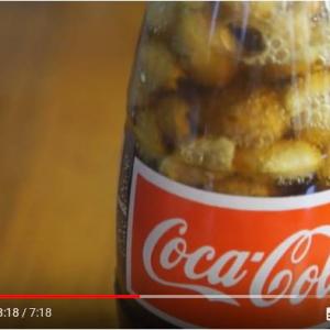 コーラにピーナッツ入れるのはアメリカ南部の伝統なんだって