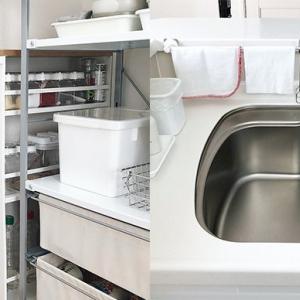 おしゃれで機能的!キッチンの収納アイデア
