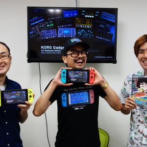 これはゲーム? それとも楽器? 『KORG Gadget for Nintendo Switch』を開発者さんと4人プレイで遊んでみた
