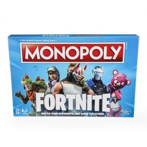 ゲームアプリ『フォートナイト』がボードゲーム化 『モノポリー:フォートナイト・エディション』が今秋発売