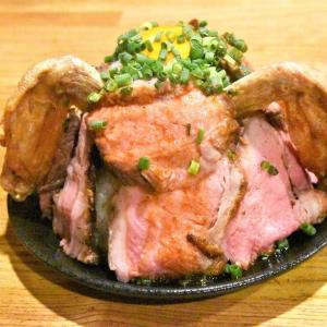 平日100食限定! 最低価格1円~で食べられる総重量800gのデカ盛りローストビーフ丼(10/18まで)