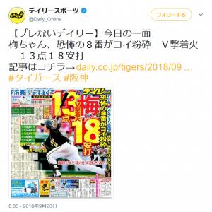 千葉ロッテマリーンズの福浦和也選手が2000本安打を達成!! そのときデイリーは