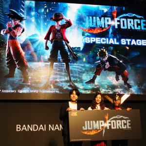 東京ゲームショウ 2018:週刊少年ジャンプ50周年記念格闘ゲーム『JUMP FORCE』新情報がステージイベントで続々と解禁に