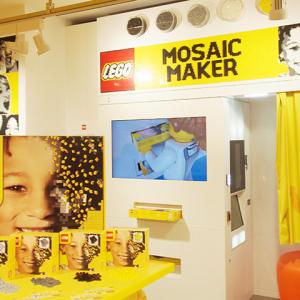家族&カップルの記念に! 横浜みなとみらいオープン『レゴストア』に『モザイクメーカー』日本初上陸
