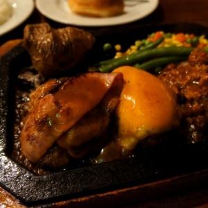 「ゴールドラッシュ」の限定ハンバーグを食べてみた 大ボリューム&ガーリックで週末の疲れに喝!