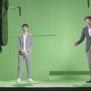 クールな羽生結弦選手とホットな松岡修造がCM初共演! 撮影メイキング映像公開