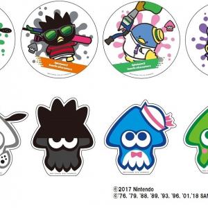 「ポチャッコ」や「タキシードサム」もイカに!『スプラトゥーン2×サンリオキャラクターズ』第2弾フェア開催