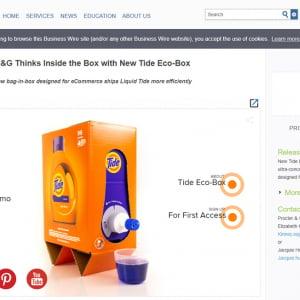 酔ってたら間違って飲んじゃいそうな洗剤『タイド』の新容器