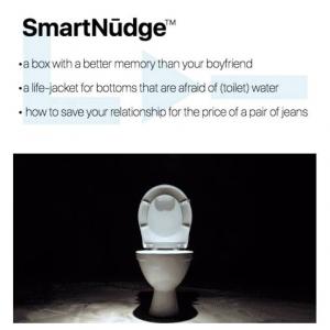 仁王立ちで用を足したいけど奥さんの小言も気になるという旦那さん あなたにぴったりのトイレ小道具がこちらです
