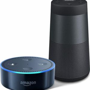 Amazon『サイバーマンデー』:スマートスピーカーとBluetoothスピーカーがセットでお得