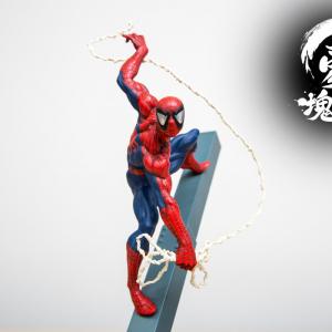 """プライズブランド『豪塊』のフィギュア『スパイダーマン』の""""筋肉感""""を見よ"""
