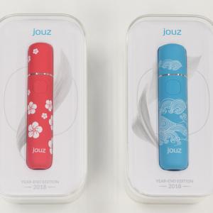 """最大20本連続使用が可能なIQOS互換『jouz』から""""祝い""""をテーマにした限定カラーが登場 / 2018年12月21日新発売"""