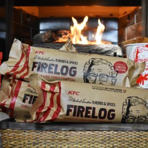 ケンタッキーがフライドチキンの香りがする薪をアメリカで発売という暴挙に出るが――即完売