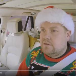 カープールカラオケ 今年はのクリスマスソングは『Christmas (Baby Please Come Home)』