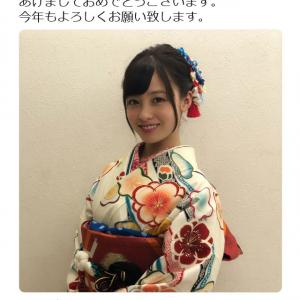 「あけましておめでとうございます」 橋本環奈さんが晴れ着姿を披露し可愛すぎると大反響
