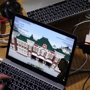 合宿に集まった学生たちが『Minecraft』で深谷駅を再現 慶応大学と東京大学の教員・研究員による地域資源研究の共同プロジェクト