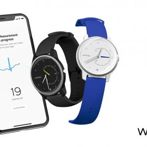 心房細動を検出できる心電図機能を搭載 Withingsがアナログ腕時計型活動量計『Move ECG』と家庭用血圧計『BPM Core』を発表
