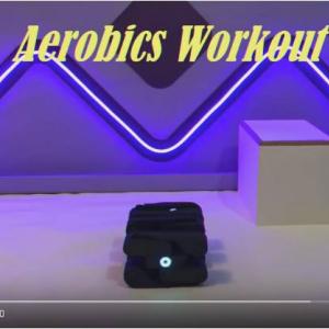 ロボットもエクササイズする時代が到来 華麗にエアロビクスダンスを披露