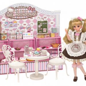 大人も楽しめるクオリティ!リカちゃん×ハローキティのスイーツカフェ発売 可愛すぎて即予約終了だったドールも数量限定販売