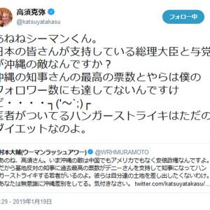 高須克弥院長「医者がついてるハンガーストライキはただのダイエット」 辺野古の県民投票をめぐるハンストに賛否