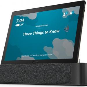 レノボがドックから外せばタブレットになるAlexa対応のディスプレイ付きスマートスピーカーを発売 価格は2万9880円