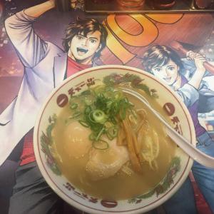 味付煮玉子のサービスも! 「劇場版シティーハンター」が歌舞伎町の「天下一品」とコラボ中