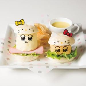 ポプ子・ピピ美がキティやマイメロ化した衝撃メニューに!『ポプテピピック×サンリオキャラクターズカフェ』オープン