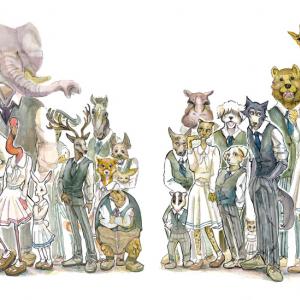動物版ヒューマンドラマの話題作『BEASTARS』TVアニメ化決定!ティザーPV公開