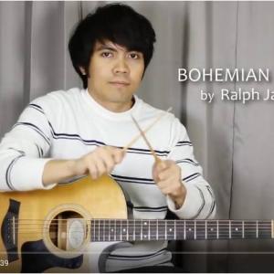 クイーンの名曲『ボヘミアン・ラプソディ』をギター演奏してみた ピックの代わりに箸で