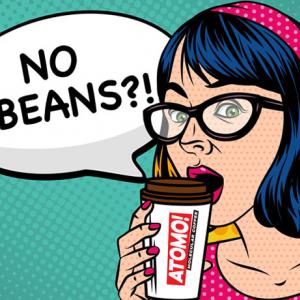 世界初となるコーヒー豆を一切使わないコーヒー『Atomo Molecular Coffee』