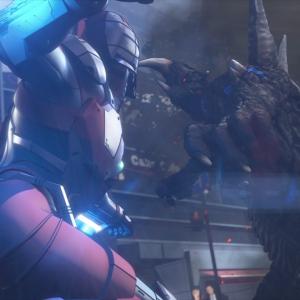 SEVENやACEの姿も!Netflixアニメ『ULTRAMAN』戦闘シーンから異星人まで躍動感あふれる場面カット解禁