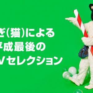 GYAO!音楽担当がオススメする 『むぎ(猫)による平成最後の猫MVセレクション』