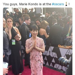 こんまりこと近藤麻理恵さん 今度はアカデミー賞にゲストとして招かれる