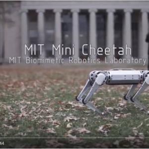 "MITの『ミニ・チーター(Mini Cheetah)』が""4足歩行""ロボットとして初めてバク宙に成功"