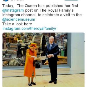 """まさに""""開かれた王室"""" イギリスのエリザベス女王が『Instagram』初投稿"""