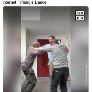 """3人で踊る""""トライアングルダンス""""がキテるって話です"""