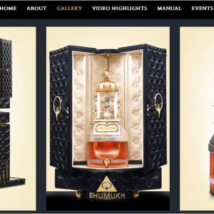 世界一お高い香水がこちらの『SHUMUKH』となります 約1億4300万円でお買い上げいただけますか?