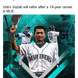 アメリカの野球ファンも夜中まで起きていた日本でのMLB開幕戦 イチローの引退試合になろうとは……